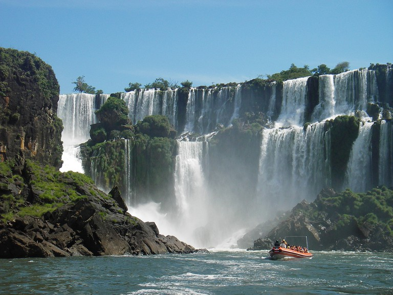 Check out the Iguazu Falls in early spring