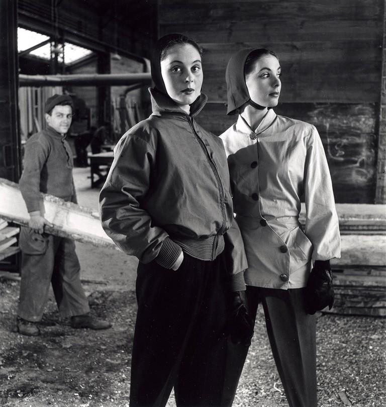 Skiers, 1950