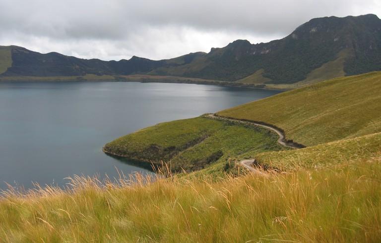Lake Mojanda, Ecuador