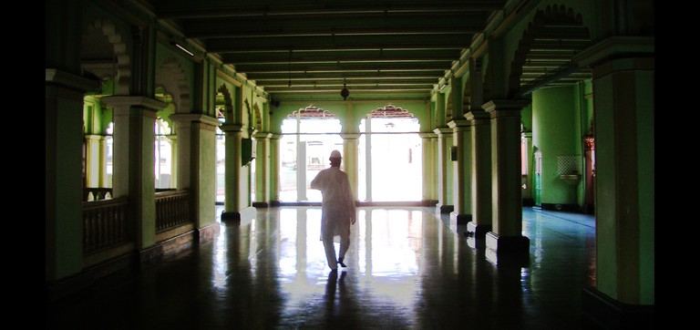 Man at a mosque