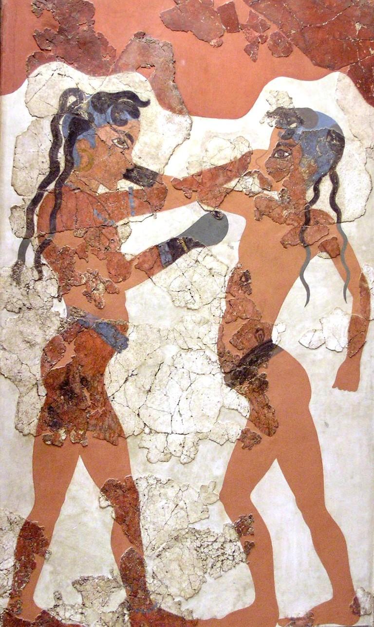 Young Boxers, Akrotiri, Thera (Modern-day Santorini)