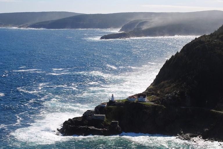 The shores of Newfoundland