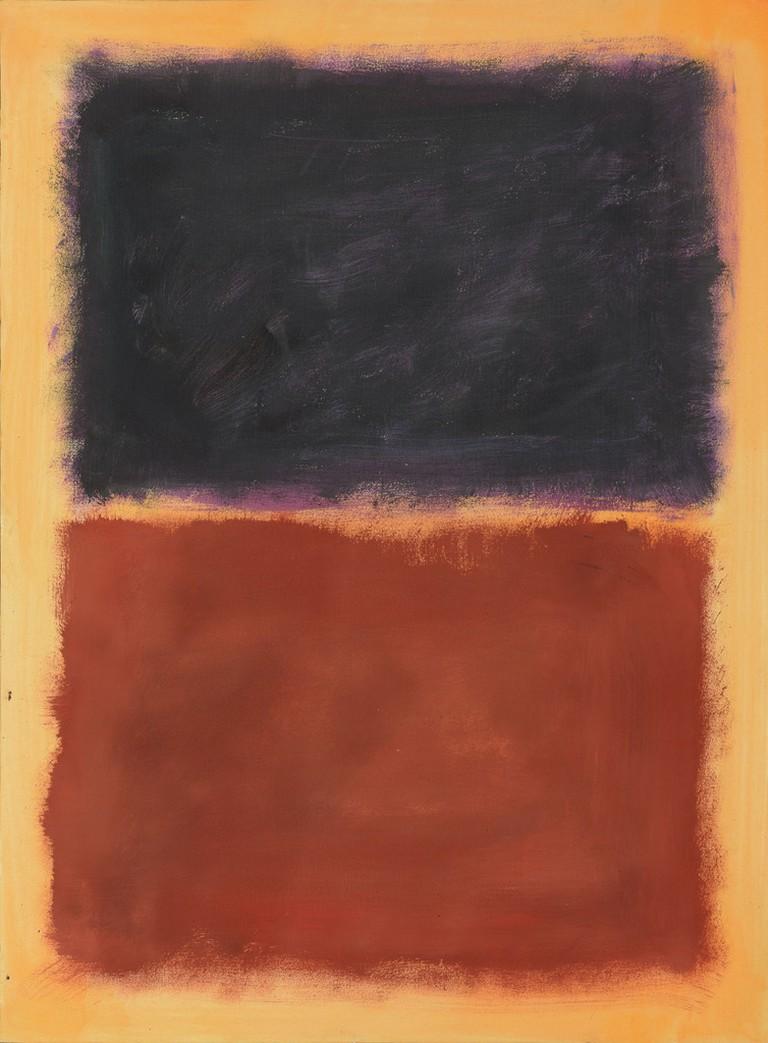 Painting in the style of Mark Rothko, Pei-Shen Qian   Courtesy of Luke Nikas/Image, Courtesy of Winterthur Museum