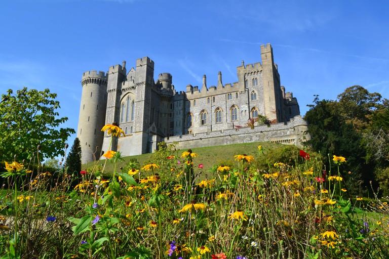 Arundel castle, West Sussex, United Kingdom, filming location of Wonder Woman.