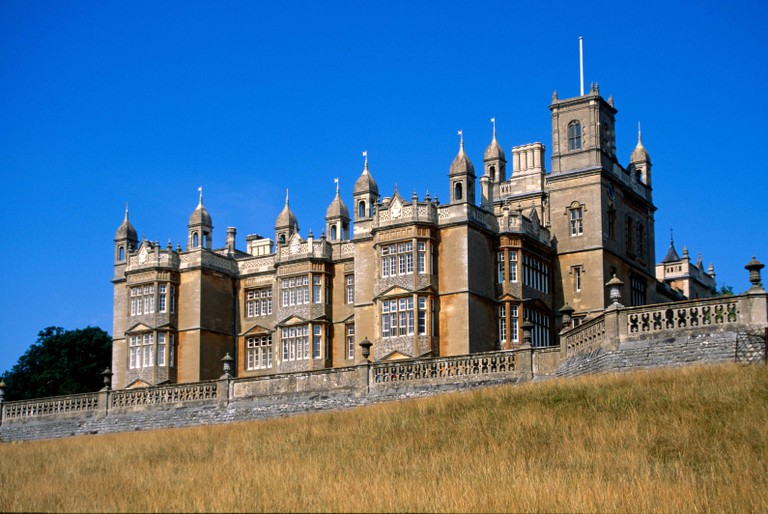 Englefield House National historic landmark building, Berkshire England UK and filming location of X-Men: First Class.