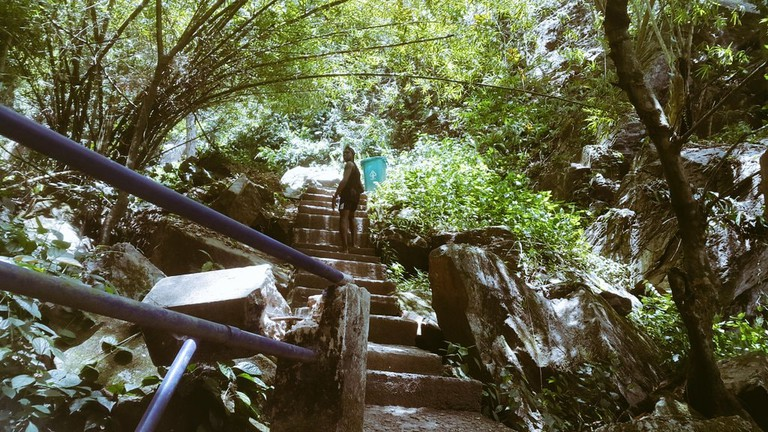 The Seventh Summit of the Olumirin Waterfalls