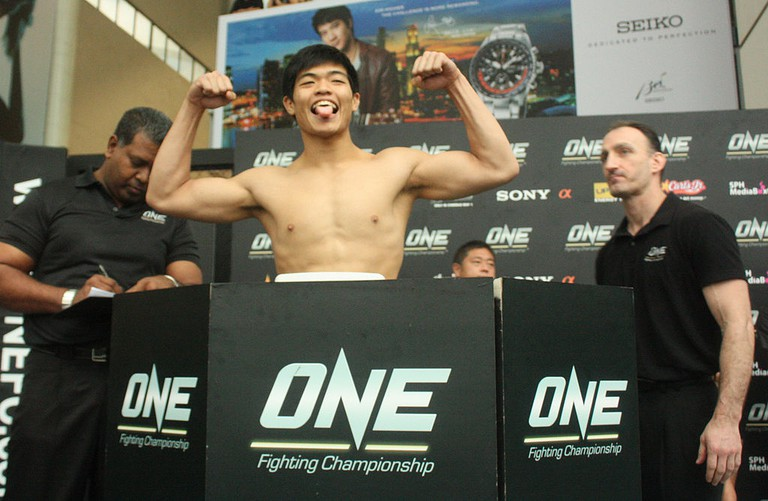 Kim Hock at the ONE Fighting Championship