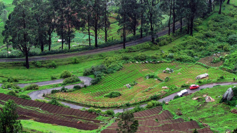 The small town is situated in the rich hills of Nilgiri