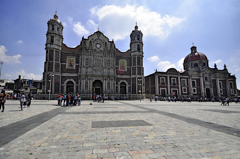 The first basilica built in honor of the Virgin of Guadalupe