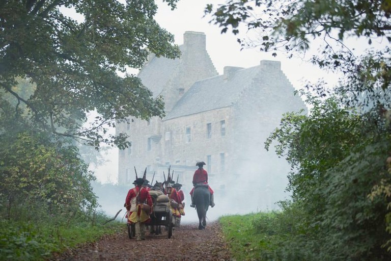 Midhope Castle which featured as 'Lallybroch' in Outlander