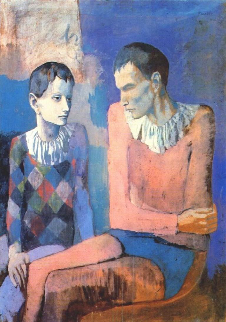 Pablo Picasso, Acrobate et Jeune Arlequin, 1905