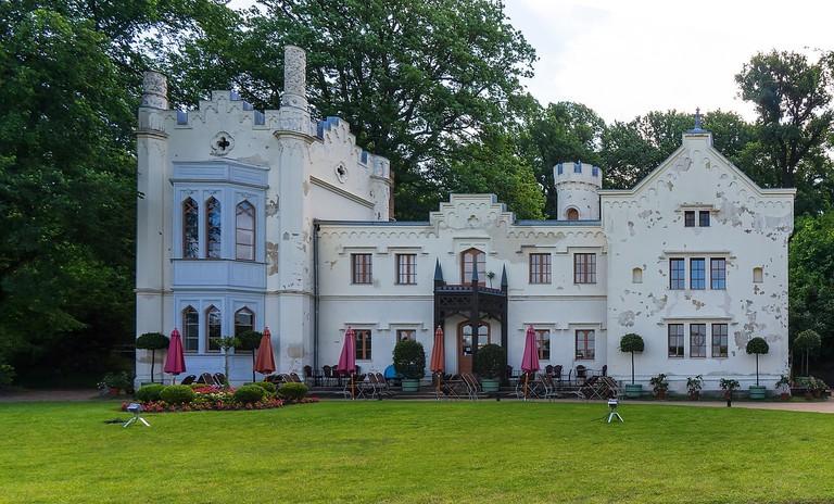 A restaurant in Babelsberg park