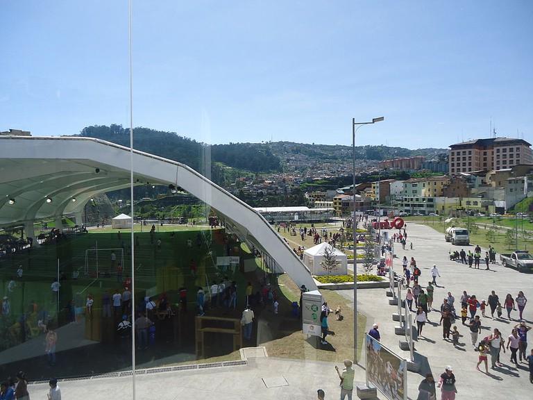 Parque Cumandá, Quito