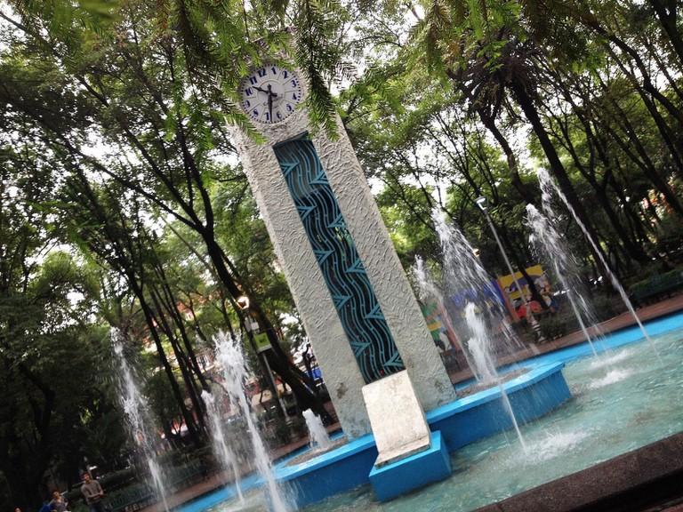 Condesa's Parque Mexico / flckr