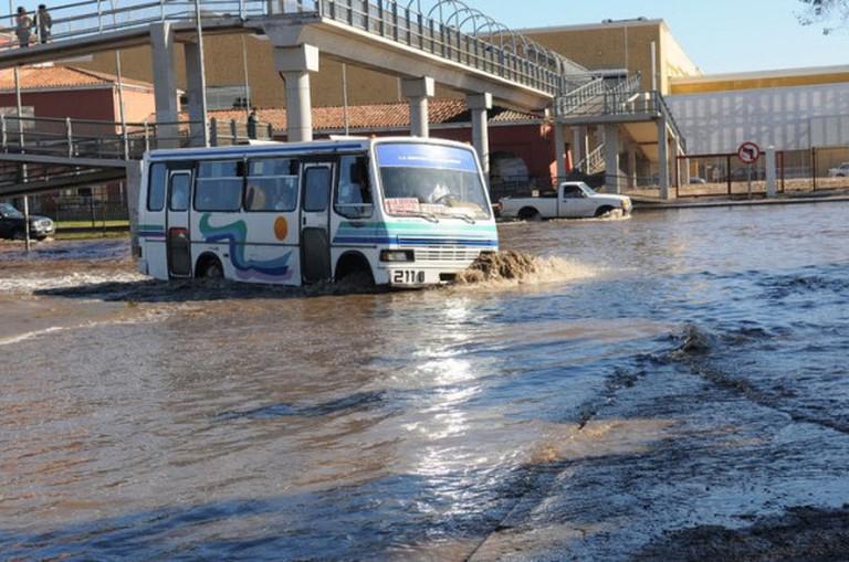 Floods in La Serena