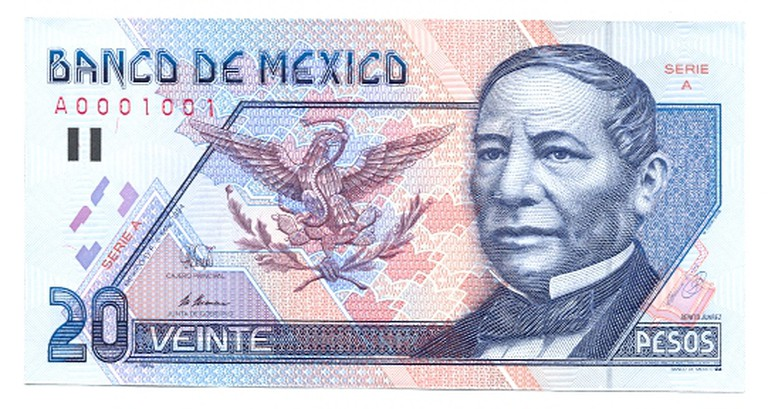 20 pesos