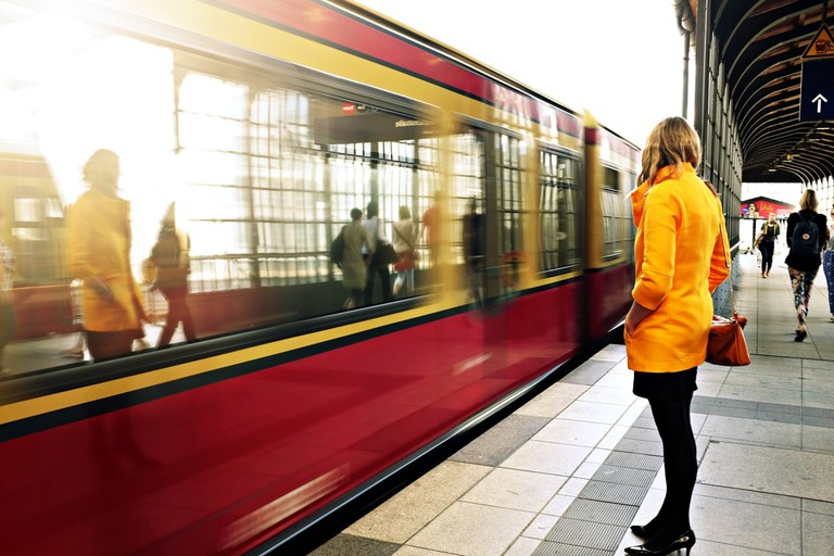 Using public transport can be a stressful experience for women