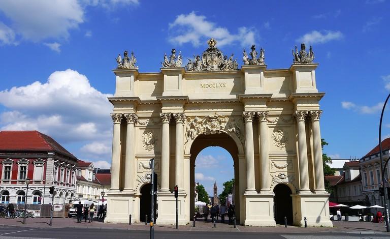 Potsdam's mini (but older) version of Brandenburg Gate