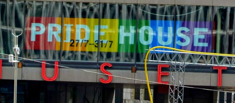 Pride House is the cultural center of Pride week
