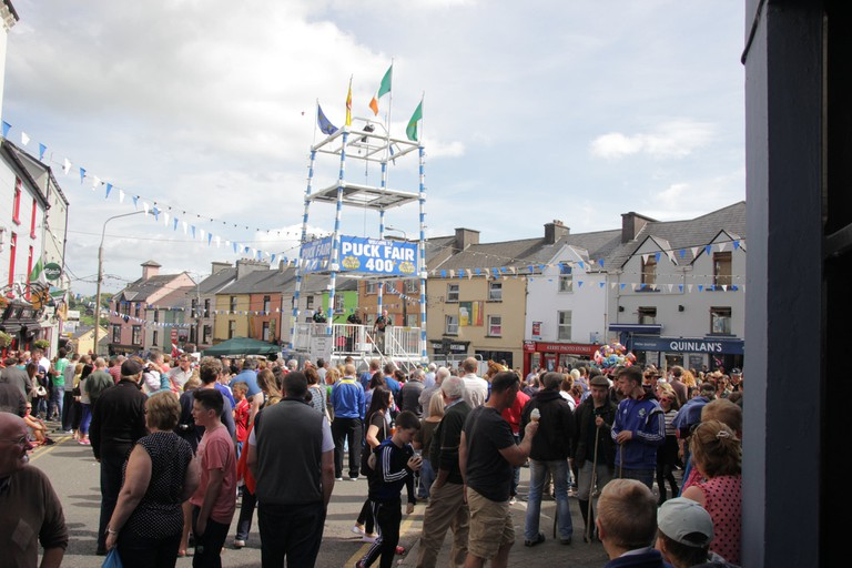 Gathering Day at the Puck Fair