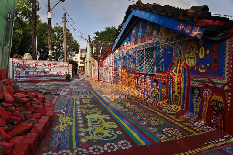 Rainbow Village, Taichung, Taiwan | © Steven R. Barringer/Street Art Utopia/WikiCommons