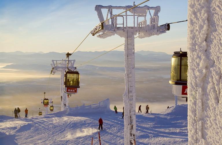 World class skiing in Åre