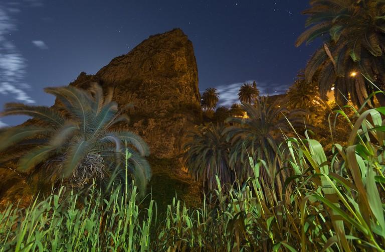 Roque de Pedro y Petra Hermigua, La Gomera