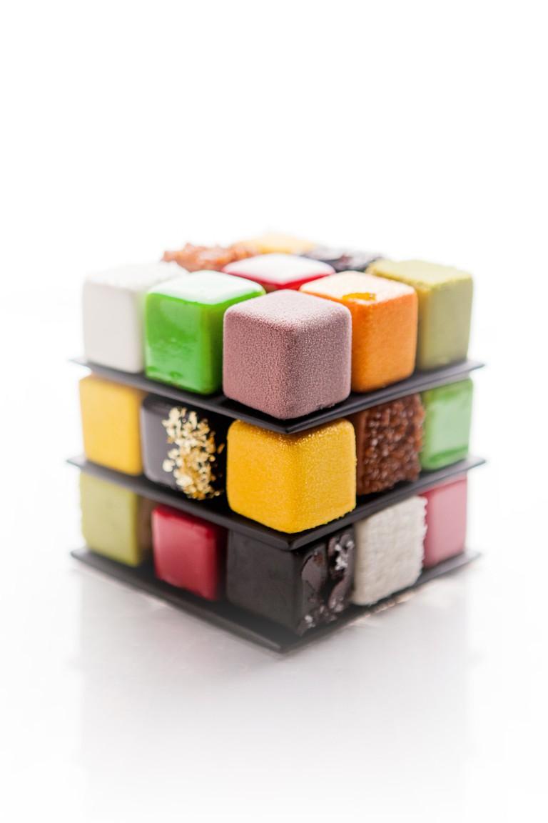 Rubik's cake