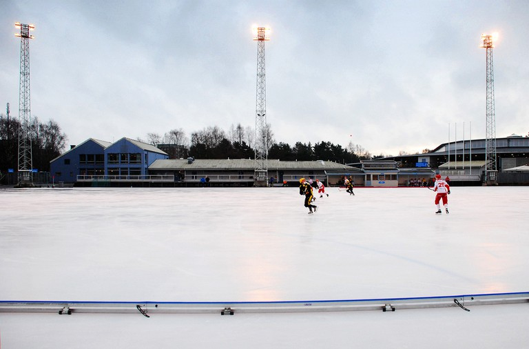 Plenty of places to play hockey in Sweden