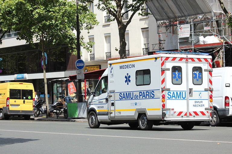 SAMU in Paris │© Lionel Allorge / Wikimedia Commons