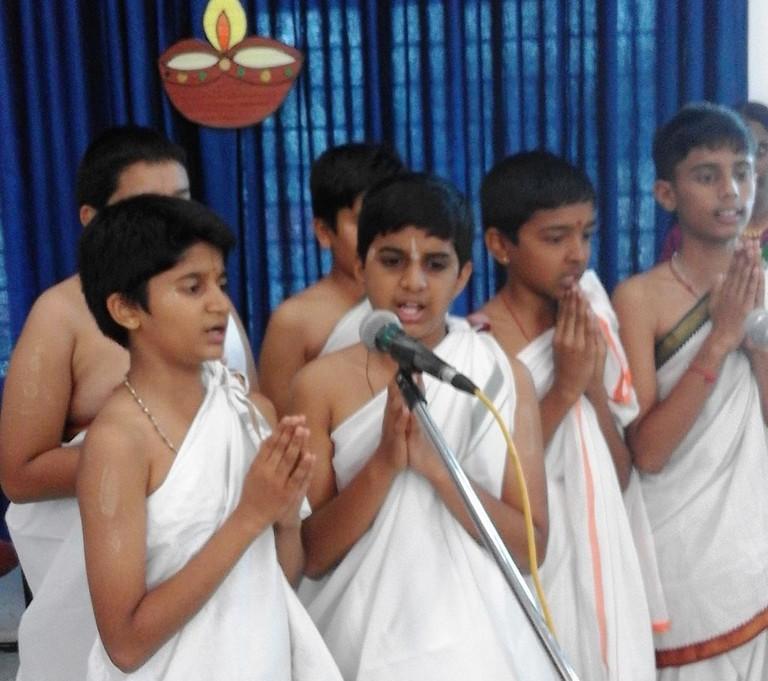 Sanskrit festival at Pramati School, Mysore   © Prof tpms / Wikimedia Commons