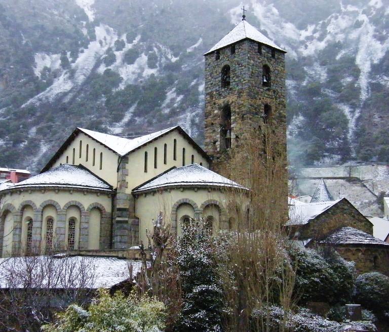 Church of Sant Eseteve, Andorra