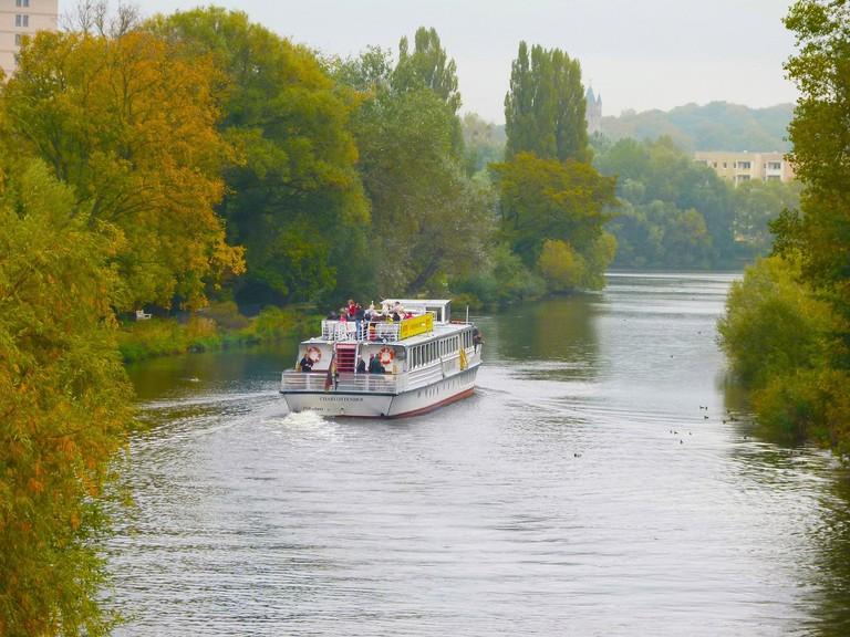 Take a boat tour of magical Potsdam