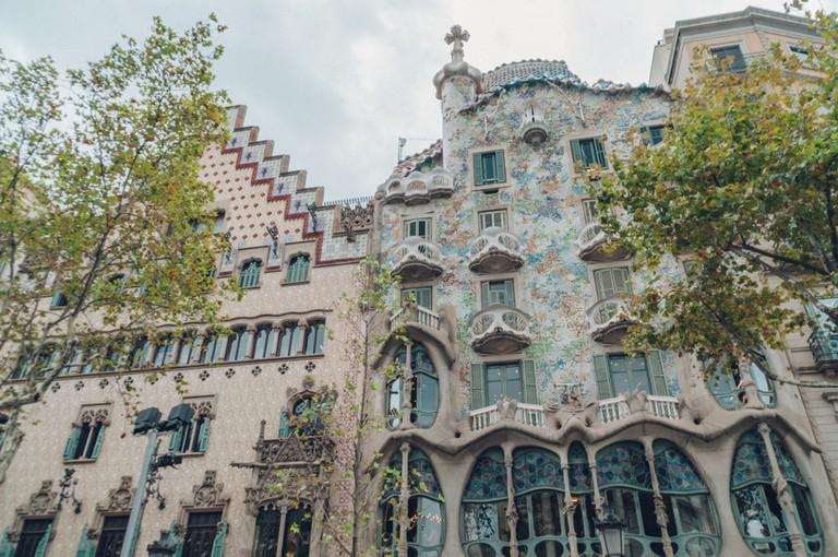 The Casa Batlló on Passeig de Gràcia   Michael & Tara Castillo / © Culture Trip