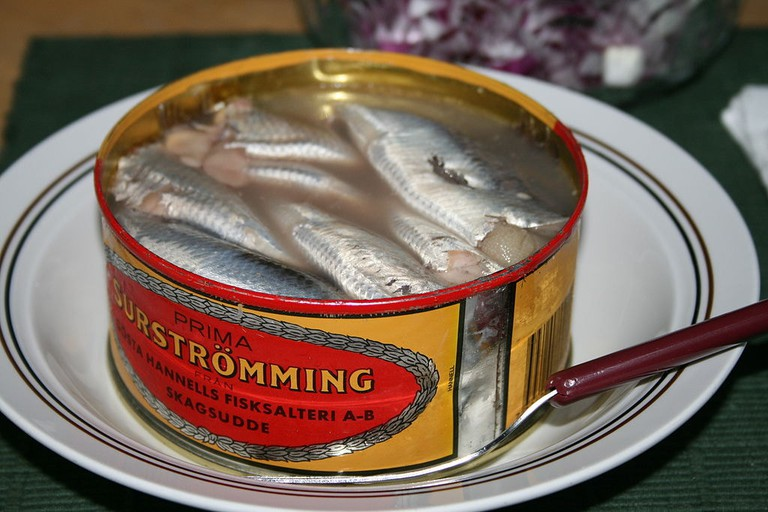 Tin of surströmming / WikiCommons