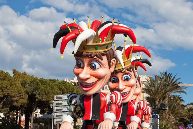 The carnival in Nice is one of the biggest in the world