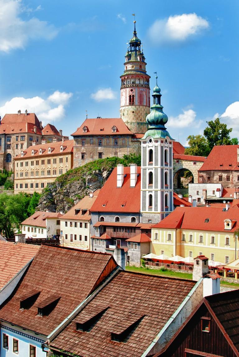 Czesky Krumlov's historical city center | © Nikonenko Tatiana/Shutterstock