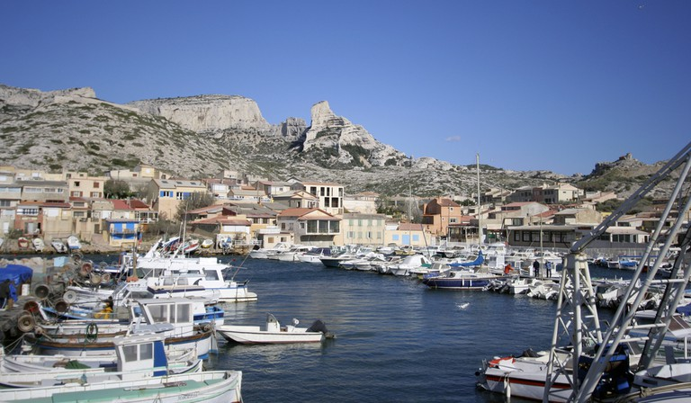 The village of Les Goudes, Marseille