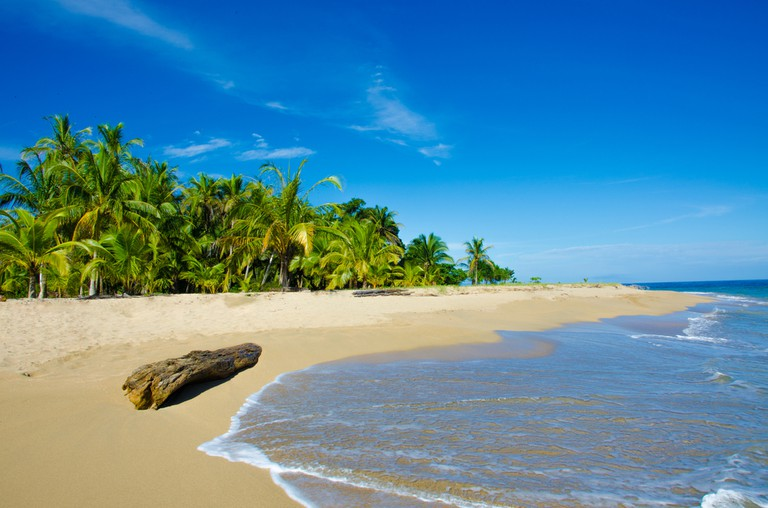 Empty sands of Playa Chiquita   © Simon Dannhauer/Shutterstock