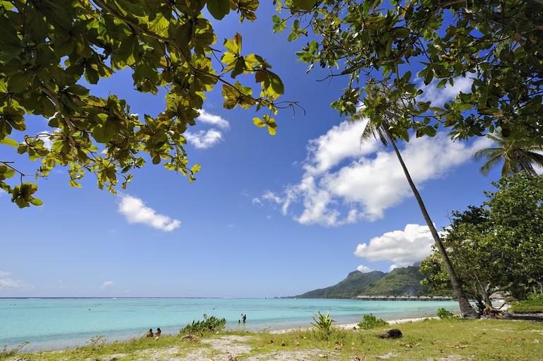 Temae's Beach