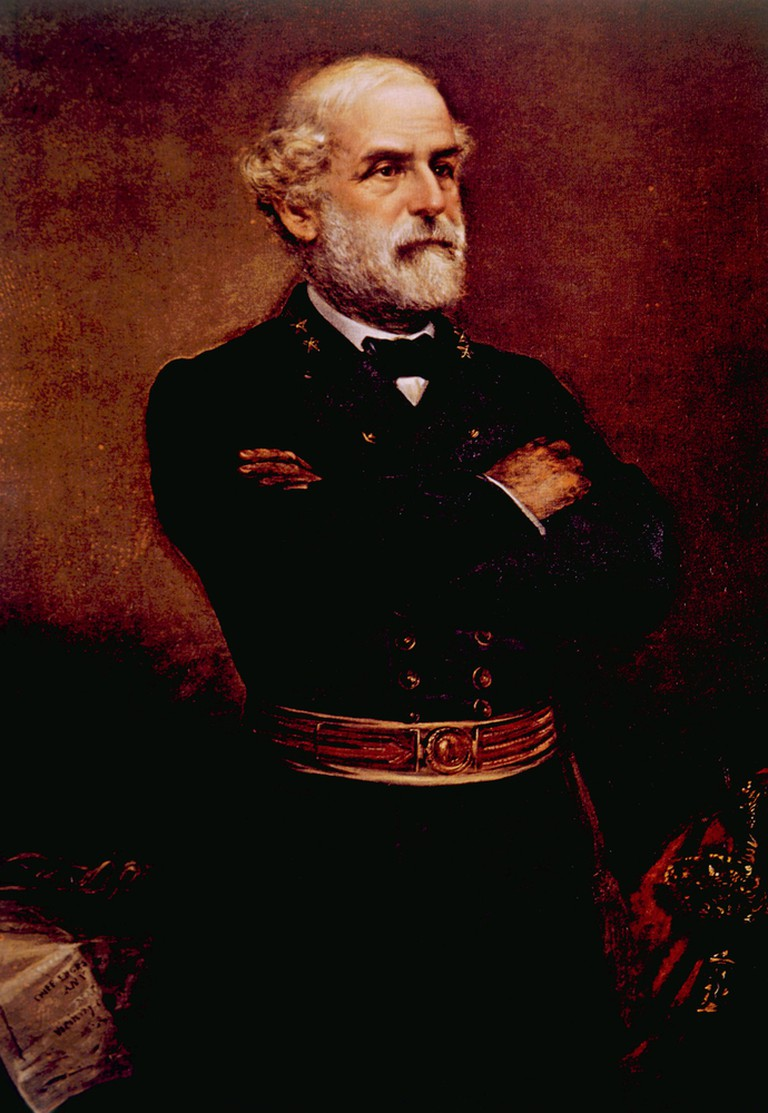 A painting of General Robert E. Lee (1807-1870)