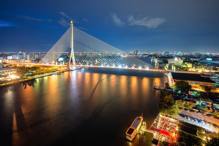 Rama VIII Bridge | © Phattana Stock/Shutterstock