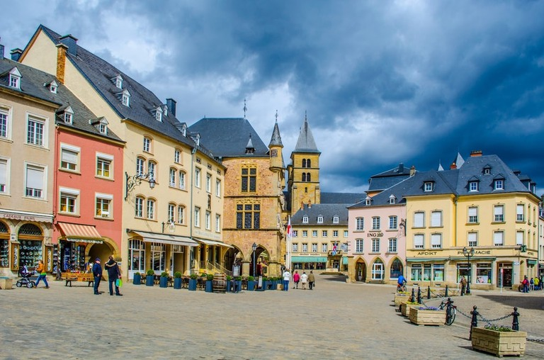 The historic centre of Echternach, Luxembourg