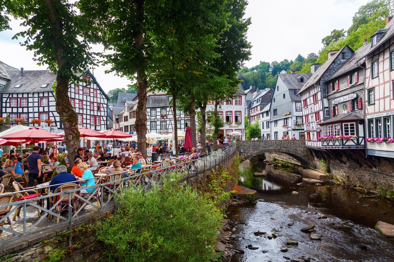 The historic town centre of Monschau