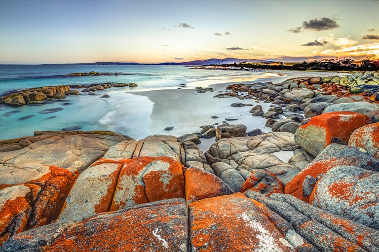 Bay of Fires, Tasmania | © Benny Marty/Shutterstock
