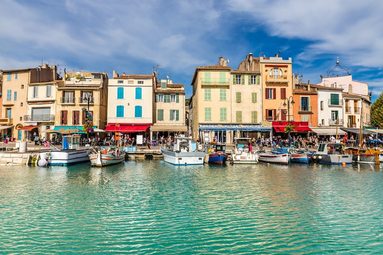 The fishing village of Cassis