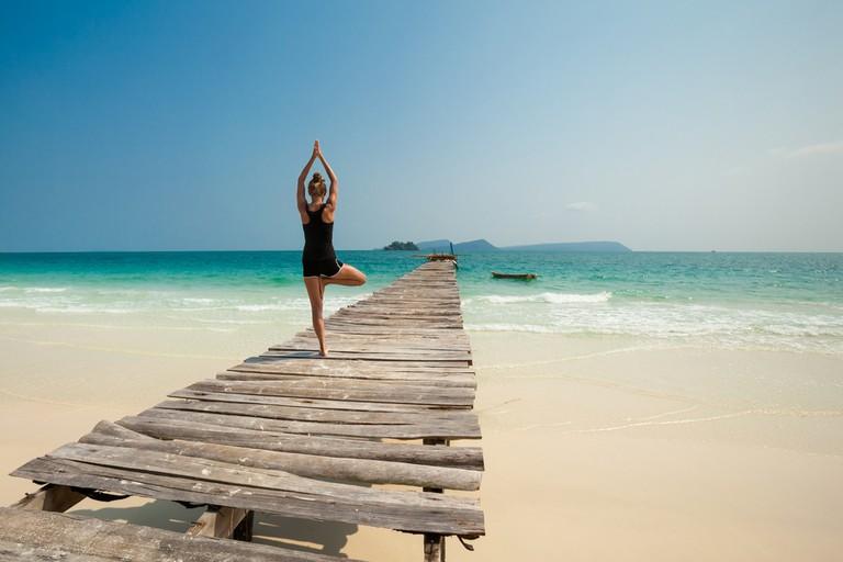 Yoga on Koh Rong