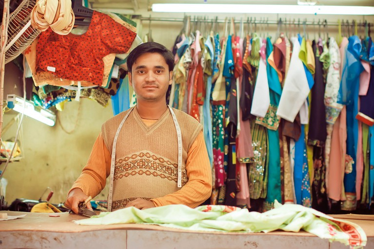 Every locality has tailors that stitch blouses and dresses to their customers' satisfaction