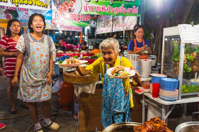 Night food in Thailand | © Zhukov Oleg/Shutterstock
