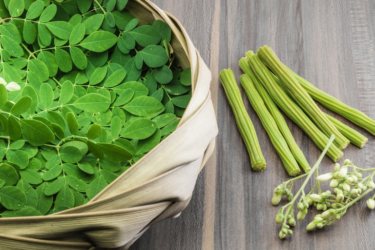 Drumsticks are the fruits of the Moringa tree